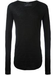 свитер с круглым вырезом  Balmain