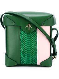полосатая мини-сумка 'Pristine' Manu Atelier