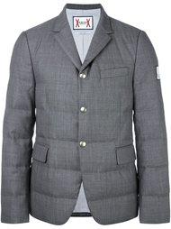 куртка-пуховик с нашивкой Moncler Gamme Bleu