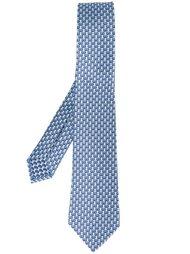 галстук с принтом обезьян Bulgari