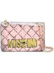 сумка на плечо с логотипом  Moschino