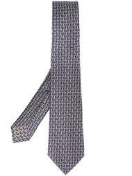 галстук с принтом пауков в колпаках Bulgari