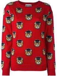 свитер с медведями Moschino