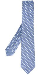 галстук с принтом кофейных чашек Bulgari