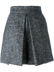 твидовая юбка в ломаную клетку Dolce & Gabbana