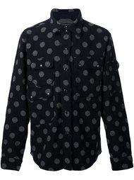 пиджак-рубашка в горох Engineered Garments