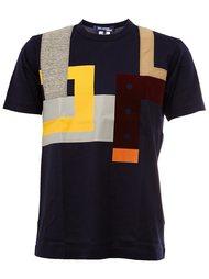 футболка с геометрическим принтом  Junya Watanabe Comme Des Garçons Man
