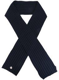 трикотажный шарф в рубчик Moncler