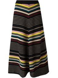 полосатая трикотажная юбка Antonio Marras