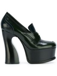 platform loafer detail pumps Maison Margiela