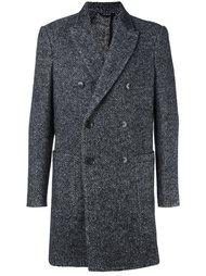 пальто в елочку  Dondup