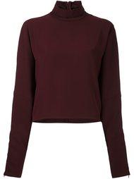 блузка с воротником-стойкой McQ Alexander McQueen
