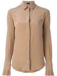 блузка с оборками  Joseph