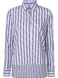 рубашка с принтом колючей проволоки  Carven