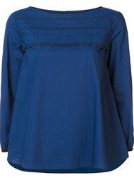 блузка с видными швами Odeeh
