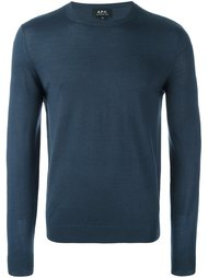 трикотажный свитер A.P.C.