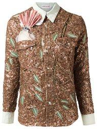 sequin embellished shirt Isabela Capeto