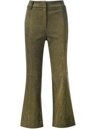 укороченные брюки-клеш Tibi