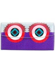 кошелек с принтом Monster Fendi