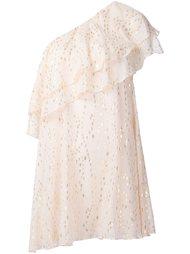 асимметричное платье с оборкой Rachel Zoe