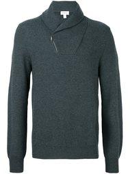 свитер на молнии  Brioni