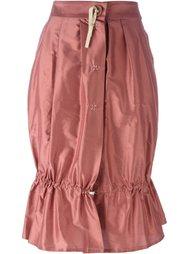 юбка со сборками Romeo Gigli Vintage