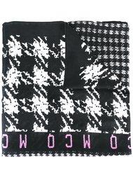 шарф в ломаную клетку McQ Alexander McQueen