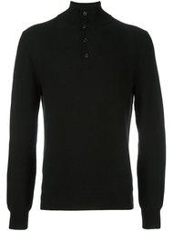 свитер на пуговицах  Brioni