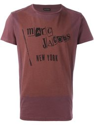 logo print T-shirt    Marc Jacobs