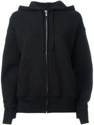 panelled hoodie Sacai