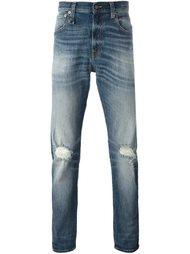 джинсы с необработанными краями   R13