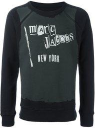 logo print sweatshirt  Marc Jacobs