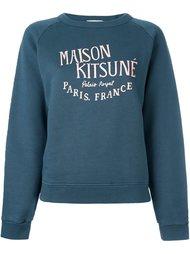 толстовка с логотипом Maison Kitsuné