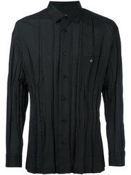 плиссированная рубашка Issey Miyake