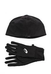 Комплект шапка и перчатки ASICS