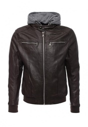 Куртка кожаная Tony Backer