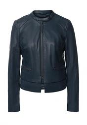 Куртка кожаная Sisley