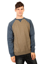 Толстовка свитшот Quiksilver Everydaycrew Dusty Olive