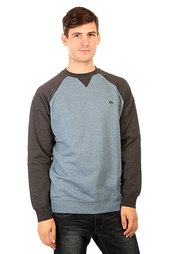 Толстовка свитшот Quiksilver Everydaycrew Captains Blue