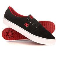Кеды кроссовки низкие DC Trase Sd Black/Red