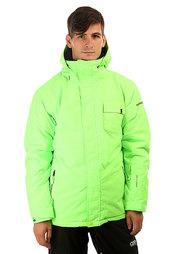Куртка утепленная Quiksilver Mission Plain Green Gecko