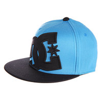 Бейсболка детская DC Ya Heard 2-bys Hats Aqua/Dark Shadow