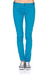 Джинсы узкие женские Roxy Suntrippers Mini Moroccan Blue