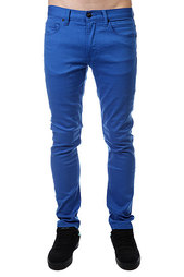 Джинсы узкие Quiksilver Distor Colors Blue