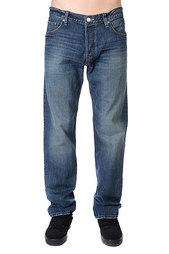 Джинсы широкие Quiksilver High F Bg Pant Bleach Grey