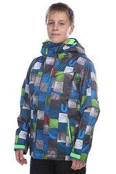 Куртка детская Quiksilver Mission Printed Youth Brillant Blue