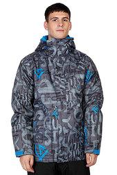 Куртка Quiksilver Mission Printed 10k Ins Jkt Asphalt