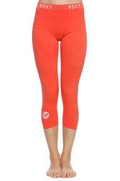 Термобелье (низ) женское Roxy Seamless 3/4 Legging Hot Coral