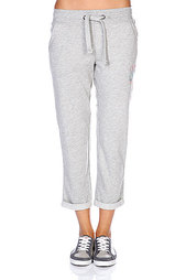 Штаны женские Roxy Rolled Up Pant Heather Grey