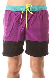 Шорты пляжные Globe Dana Panel Pool Short Purp
